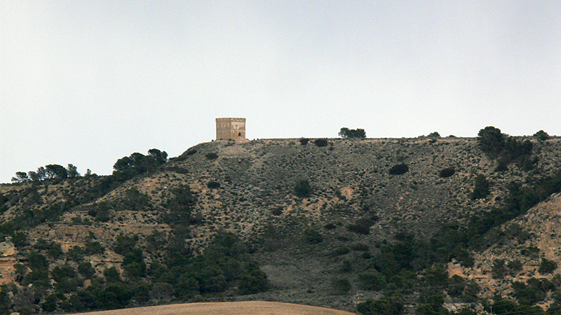 Vista del Mocatero de Escatrón