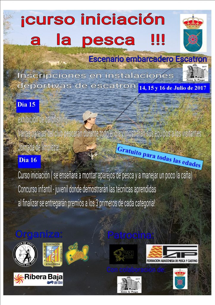 Carpfishing en Escatrón